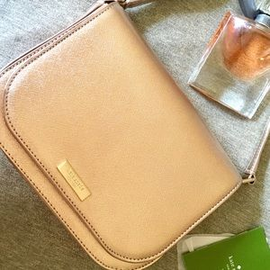 Kate spade ♠️ rose gold crossbody